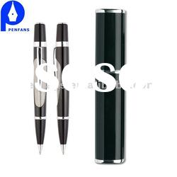 High quality metal ball pen with high quality metal tube gift set