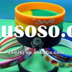 High quality various silicone rubber bracelets