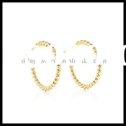 Hoop earrings gold earrings for women