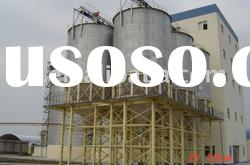 Hopper bottom steel silo 500t