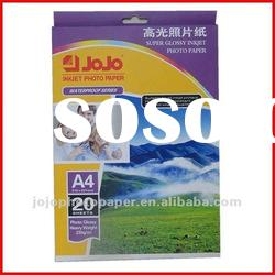 Hot Sale 230g JOJO High Glossy Inkjet Photo Paper