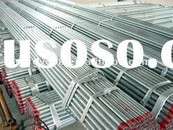 Hot dipped galvanized seamless steel pipe