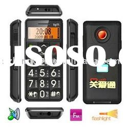 Hottest Elder Mobile Phone,FM,electronic torch function,Dual band