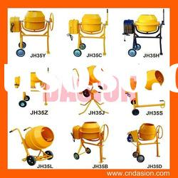 JH35 Portable Concrete Mixer with national patent for sale in stock