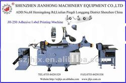 JH-250 Automatic Adhesive thermal paper toppan printing machine