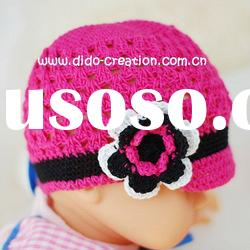 KT05016A Handmade fashion Crochet Baby's knitted Hats Cotton Hat Beanie Cap