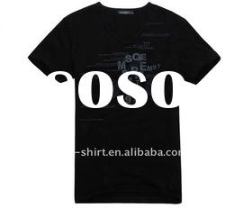 Kids black cotton t-shirts