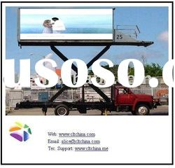 LED displays VAN of P10RGB outdoor LED screen display