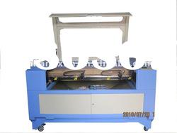 LX1390T Double-head clothes acrylic laser engraving machine
