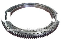 L Series ball slewing bearing with flange rings , standard types