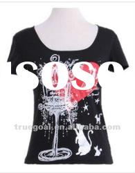Ladies 100% cotton t-shirts