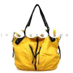 Ladies' washed Fashion handbag 2011 NEW COLLECTION