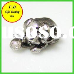 Large Hole Metal Animal Jewelry Finding Beads (FB-P0232)