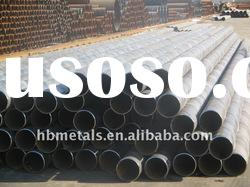 Large diameter spiral steel pipe