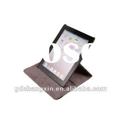 Leopard print Rotatable leather case for the new iPad