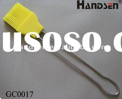 Longest BBQ silicone basting brush with stainless steel handle GC0017
