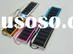 Mini 1500mAH solar powered keychain charger for mobile Phone/Camera/MP3/MP4/PDA