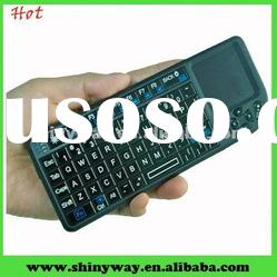 Mini 2.4GHz wireless keyboard for ipad, iphones and smart phones