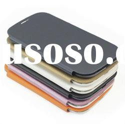 Mobile Phone Housing Battery Door For Samsung Galaxy SIII S3 i9300 With Slim Leather Case