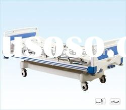 Movable full-fowler hospital nursing bed