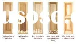 NEW PLANTATION WOOD DOOR SHUTTERS-Custom Made/ High Quality Poly & Styles
