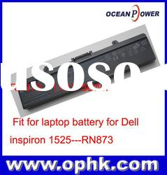 New 100% Genuine Original Laptop Battery for Dell for inspiron 1525 RN873 Battery