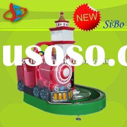 New Arrival! GMKP-67 center seat for kids,fibreglass carousel toy,kids electricity games