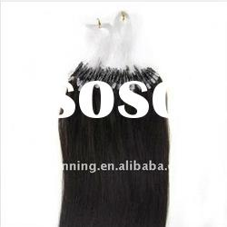 New Arrival Micro Loop Pre-bonded Hair Extension 1B Indian Remy Hair