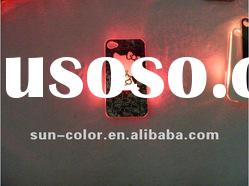 New Sense Flash Light Case Cover for iPhone 4 4S LED Color Changed