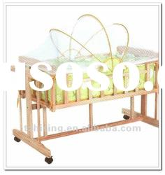 New Style Comfortable Multifunctional Luxury Baby Wood Bed