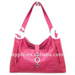 New arrival leather customized girls handbags