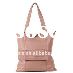 New fashion leather shopping hand bag, hand shoulder bag