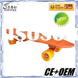 New style PP colored Board,new fish skate board,long board,less than 500pcs trial order is available