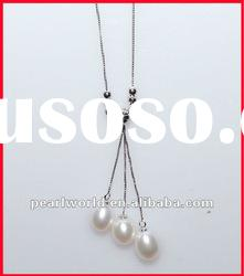 Newest Fashion Sterling Silver Pearl Necklace PN426