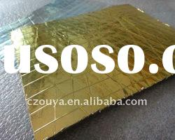 Non-woven rubber one side with aluminum pad