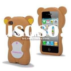 Novelty Silicone for iPhone 4 Case
