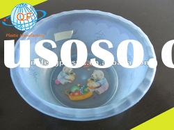 OEM wash basin for daily use china plastic basin