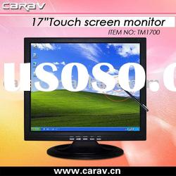 "OS: Windows CE / LINUX / Mac TFT-LCD 17"" Touch Screen Monitor with VGA/USB Port"