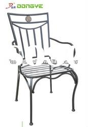 Outdoor Antique Wrought Iron Chairs YC000830