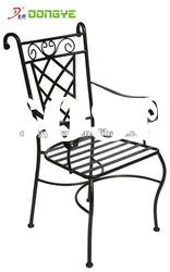 Outdoor Antique Wrought Iron Chairs YC000966