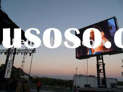 P10 outdoor full color waterproof LED ad. screen