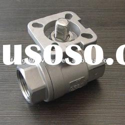 PC ball valve with ISO 5211 Direct Mounting Pad