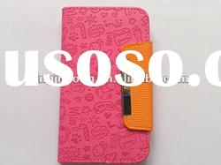PU Leather Wallet Case for Samsung Galaxy S3 i9300