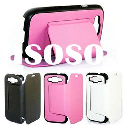 PU/leather protective case for samsung galaxy s3 i9300