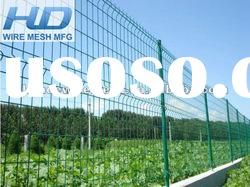 PVC coated wire mesh fence/cheap mesh fence panels/garden fence