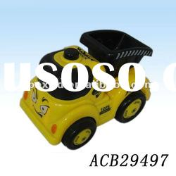 Plastic mini electric car toy for kids