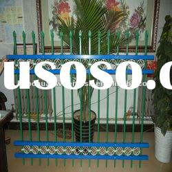 Plastic spraying rot proof Wrought iron fence of protecting wire mesh fence