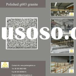 Polished g603 sesame grey granite tile