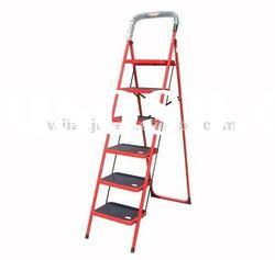 Red Steel Step Ladder For Household Ladder XM127