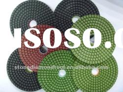 Resin Wet Polishing Pads for Granite on Angle Grinder